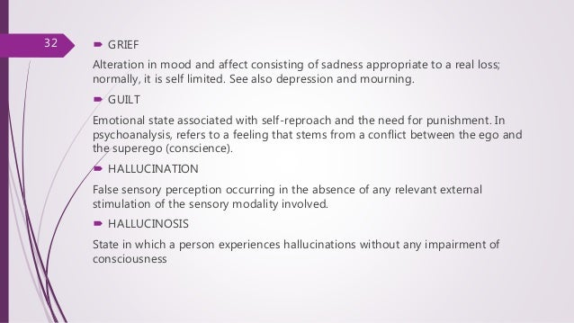 Signs and symptoms in psychiatry