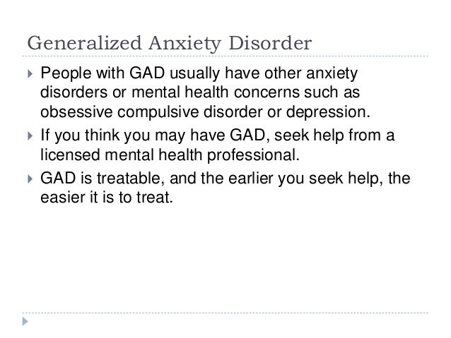 dating someone with general anxiety disorder Home » social anxiety » social phobia/anxiety case study: vicious cycle that all people with social anxiety get generalized anxiety disorder, and social.