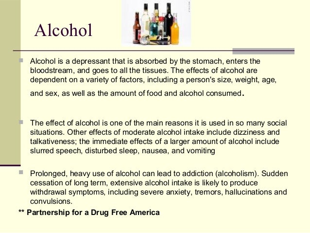 the effects of alcohol on a persons thinking process Effects and consequences of underage drinking • alcohol has toxic effects on the myelination process in • the pharmacological effects of alcohol and other.