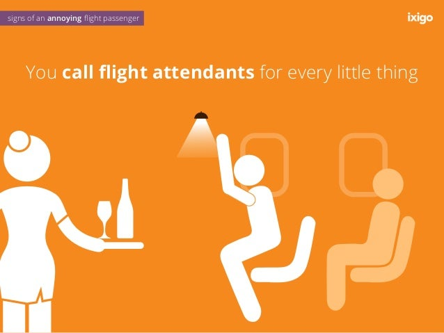 You are always in denial about your body odour signs of an annoying flight passenger