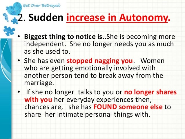 Signs That A Woman Is Cheating On You