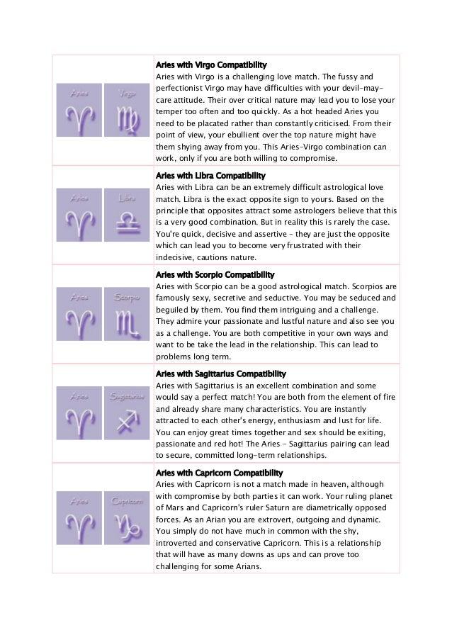 sex kompatibilitat zodiac