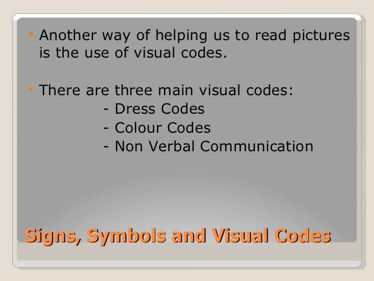 Signs Symbols And Visual Codes