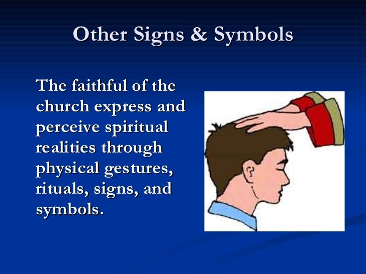 Signs Symbols Of The Catholic Faith
