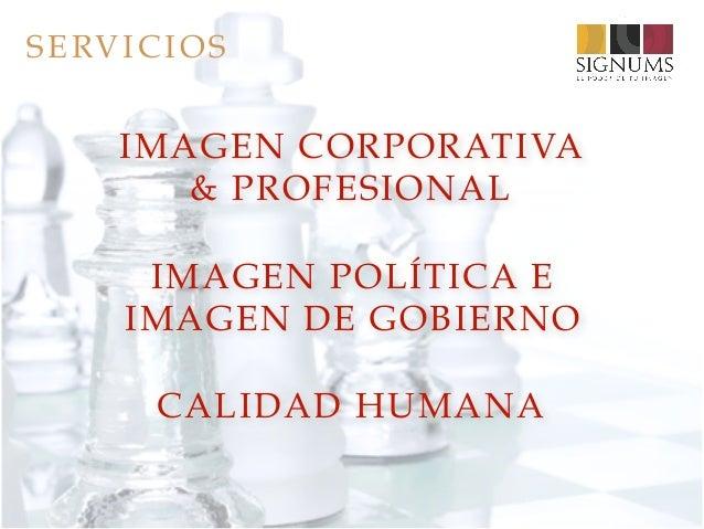 IMAGEN Y REPUTACIÓN SIGNUMS 2017 Slide 3
