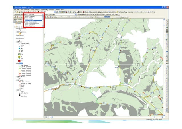 SIGOPRAM: Aplicación SIG para el diseño optimizado de redes de riego - Conferencia Esri España 2012