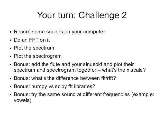 Digital signal processing through speech, hearing, and Python
