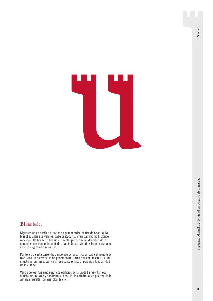 El Símbolo                                                                                 Sigüenza. Manual de identidad c...