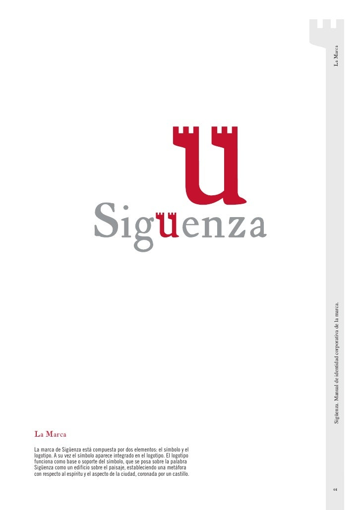 La Marca                                                                                  Sigüenza. Manual de identidad co...