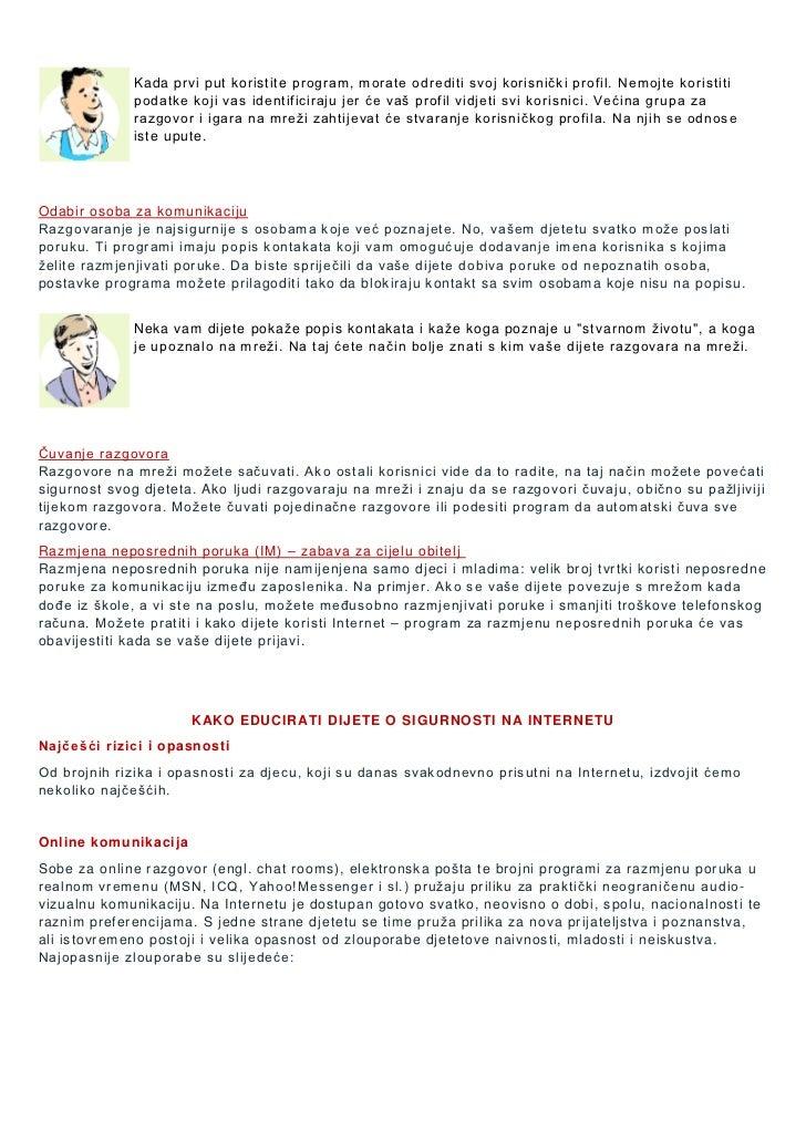 popis rizika od online upoznavanja