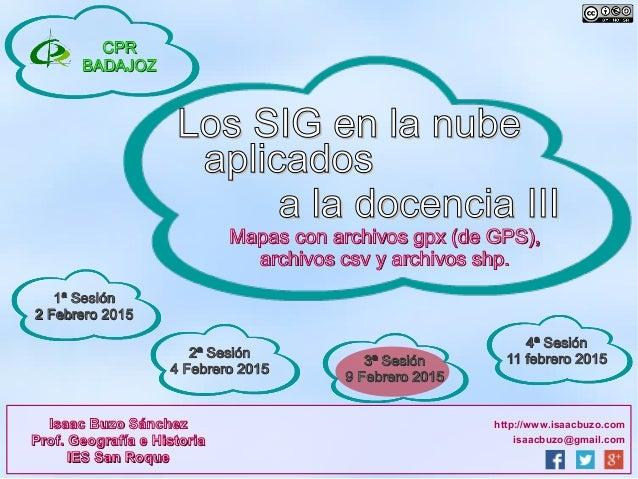 isaacbuzo@gmail.com http://www.isaacbuzo.comIsaac Buzo SánchezIsaac Buzo Sánchez Prof. Geografía e HistoriaProf. Geografía...