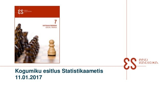 Kogumiku esitlus Statistikaametis 11.01.2017