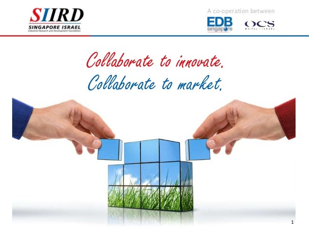 A co-operation betweenCollaborate to innovate.Collaborate to market.                                             1