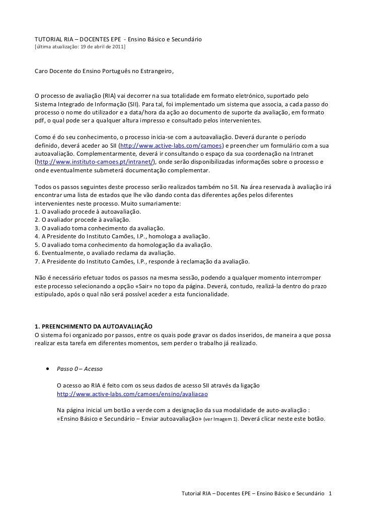 TUTORIALRIA–DOCENTESEPE‐EnsinoBásicoeSecundário[últimaatualização:19deabrilde2011]CaroDocentedoEnsi...