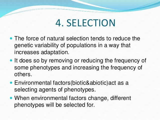 How Does Genetic Variability Impact Natural Selection
