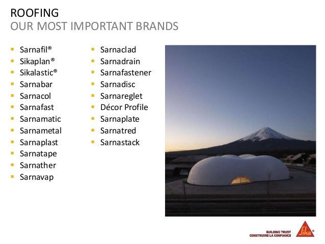 Sika Group 2014 Corporate Profile