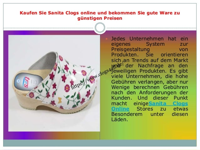 Kaufen Sie Sanita Clogs online und bekommen Sie gute Ware zu günstigen Preisen  Jedes Unternehmen hat ein eigenes System ...