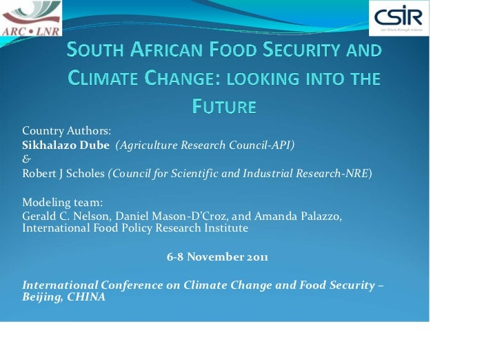Country Authors:Sikhalazo Dube  (Agriculture Research Council‐API)&Robert J Scholes (Council for Scientific and Industrial...