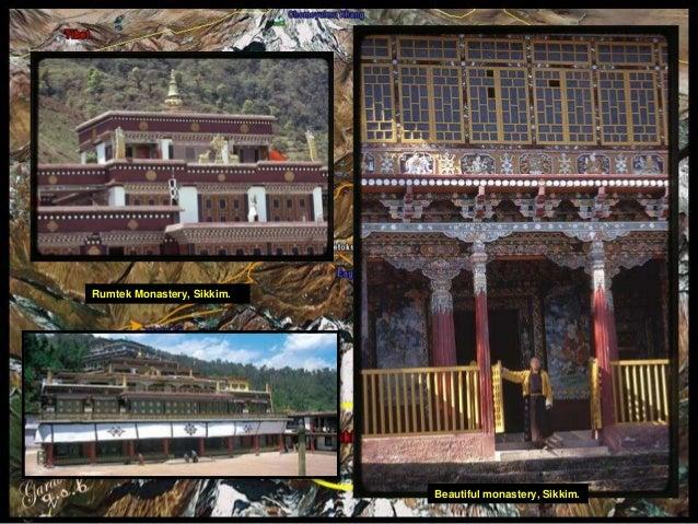 Beautiful monastery, Sikkim.  Rumtek Monastery, Sikkim.