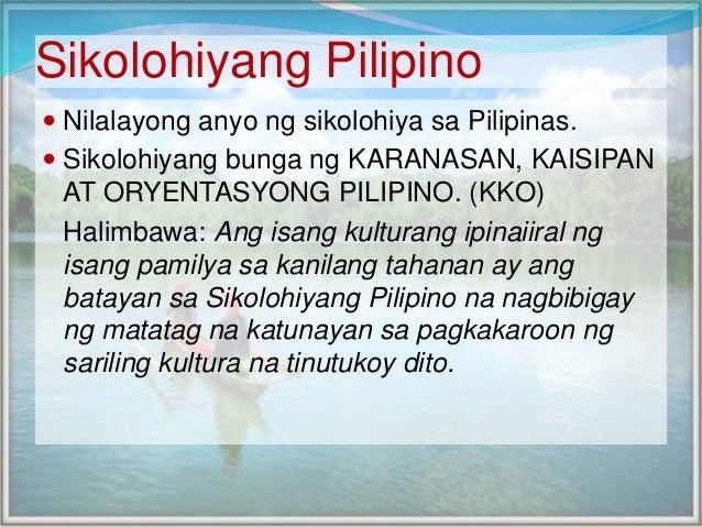 Sikolohiyang Filipino Essay Sample