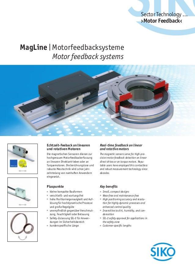 Siko Magline Motor Feedback System
