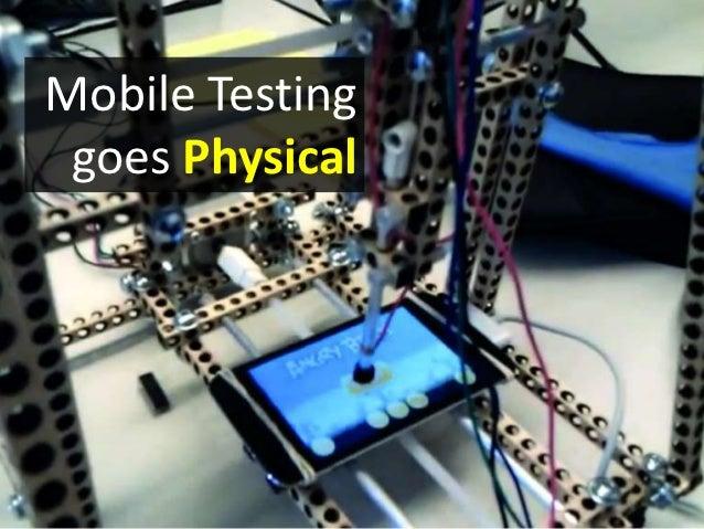 Sikuli for Mobile Testing
