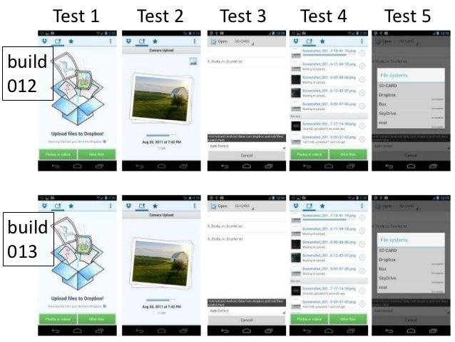 Test 1   Test 2   Test 3   Test 4   Test 5build012build013