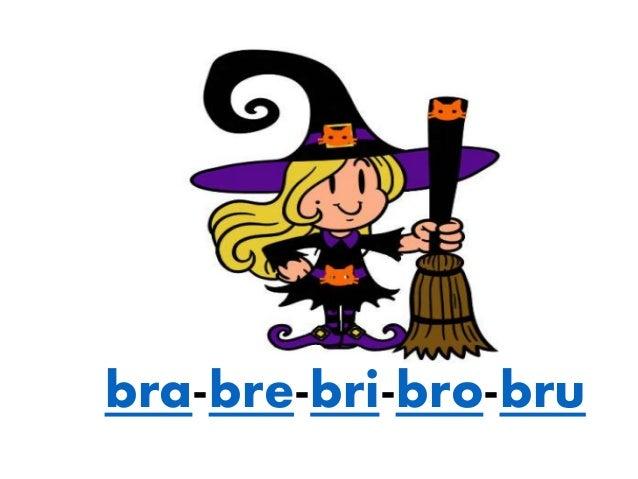Dibujos Con La Trabada Br: Silabas Con Br