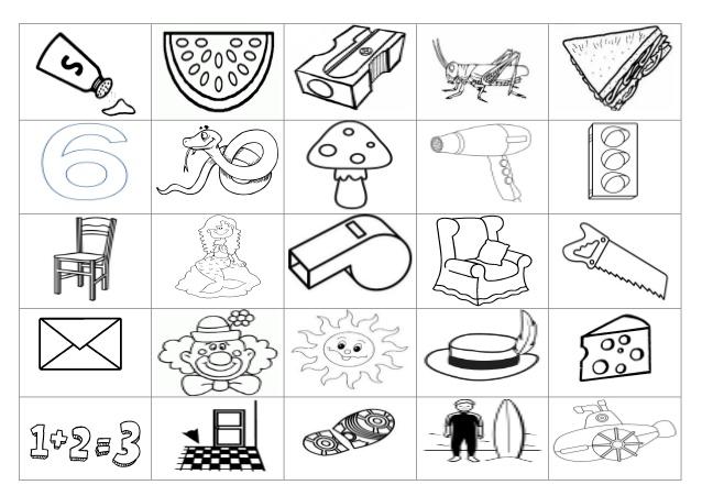 Silaba Dibujo: Dibujos Con La Silaba Mi