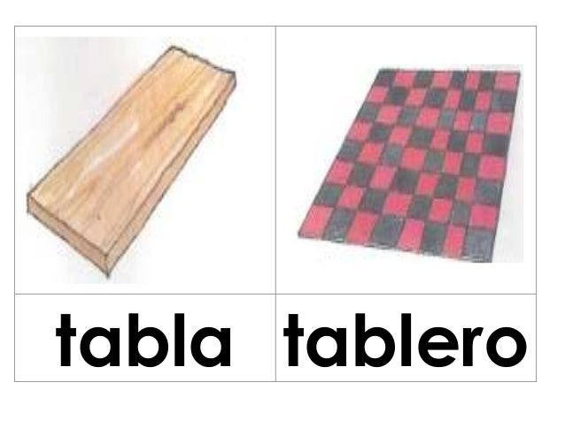 tabla tablero