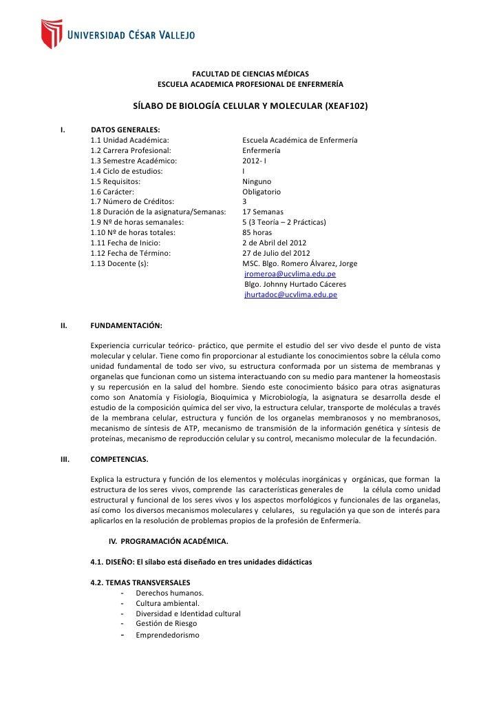 Dirección Académica                                  FACULTAD DE CIENCIAS MÉDICAS                          ESCUELA ACADEMI...