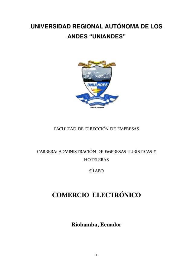 """UNIVERSIDAD REGIONAL AUTÓNOMA DE LOS  ANDES """"UNIANDES""""  FACULTAD DE DIRECCIÓN DE EMPRESAS  CARRERA: ADMINISTRACIÓN DE EMPR..."""