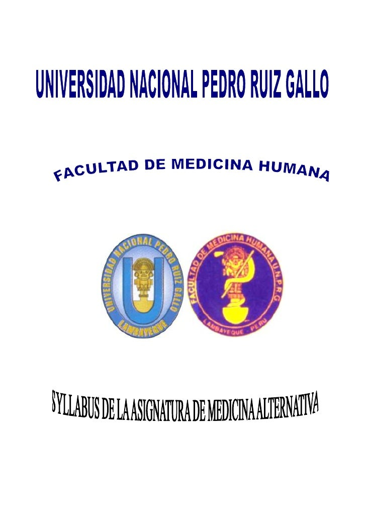 Silabo de medicinas alternativas 2010