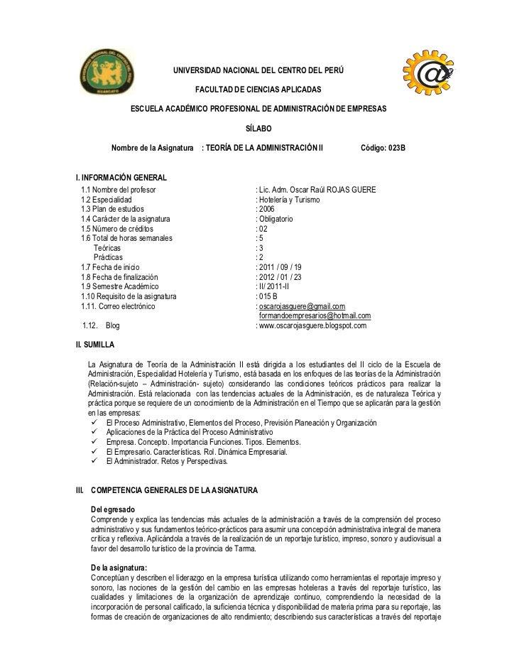 UNIVERSIDAD NACIONAL DEL CENTRO DEL PERÚ                                        FACULTAD DE CIENCIAS APLICADAS            ...