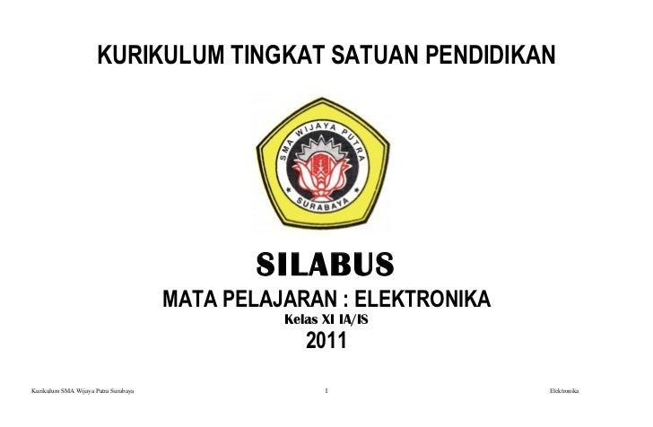 Silabus elektro-kelas-xi-2011