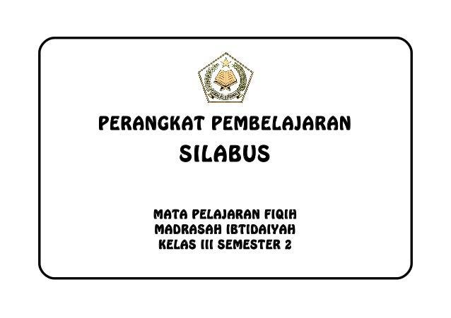 Silabus Fiqih Kelas 3 Smt 2