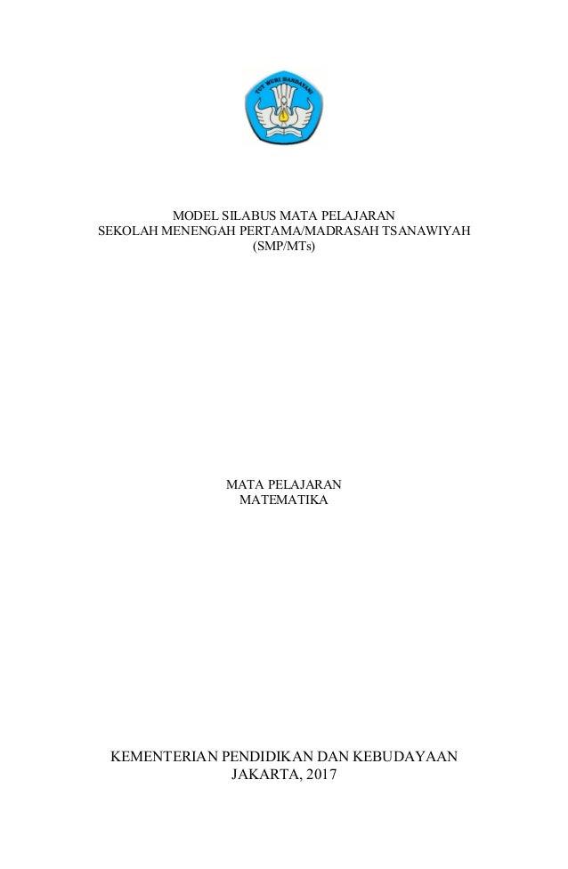 Silabus Matematika Smp Revisi 2017 Ok