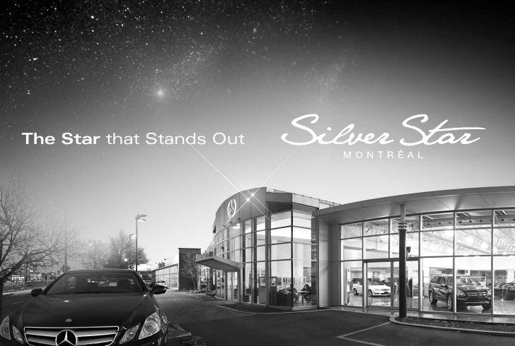 Silver star mercedes benz dealer montreal canada for Mercedes benz montreal