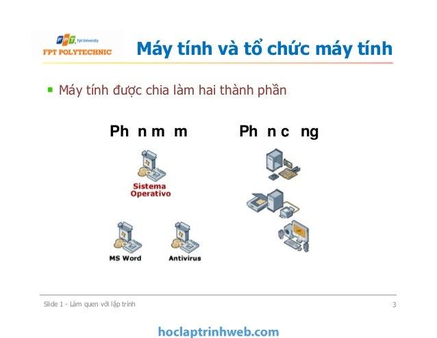 BÀI 1: Làm quen với lập trình - Giáo trình FPT Slide 3
