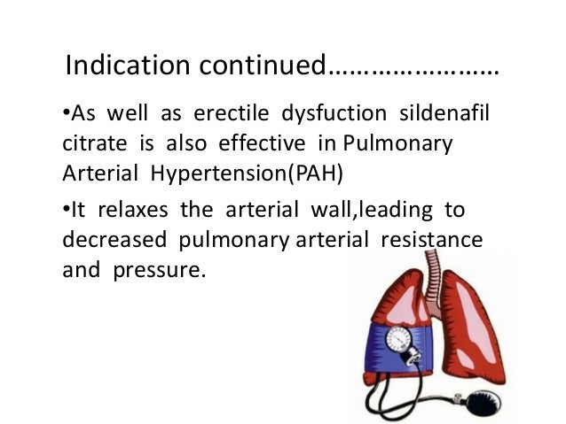 sildenafil treatment for pulmonary hypertension