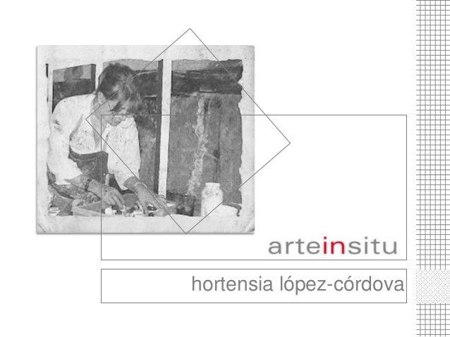 hortensia lópez-córdova  1