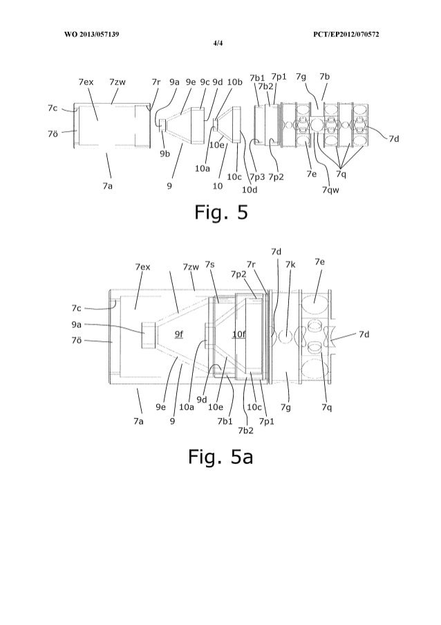 Silencer Patent Drawings