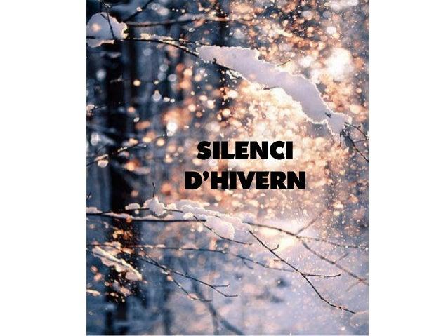SILENCI D'HIVERN