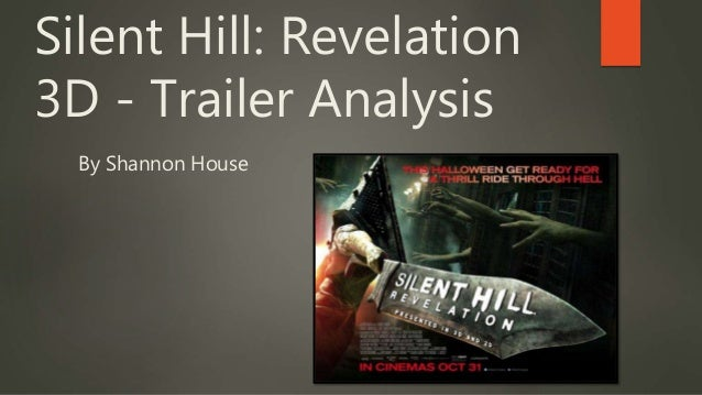 silent hill analysis The point is, this document shouldn't be what you base silent hill on, but it's what  you should use to help you in your own analysis silent hill is.