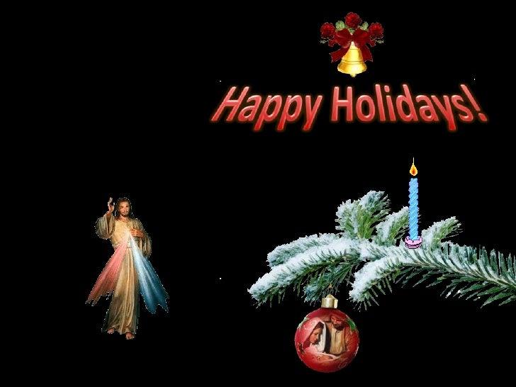 Happy Holidays!<br />