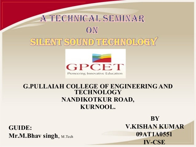 G.PULLAIAH COLLEGE OF ENGINEERING AND                  TECHNOLOGY              NANDIKOTKUR ROAD,                   KURNOOL...