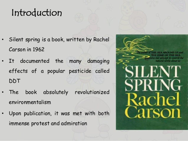 "silent spring ap english essay The junior ap english demonstration in american literature: rachel carson, ""silent spring"" 798 writing: in-class essay, argumentative (one hour."