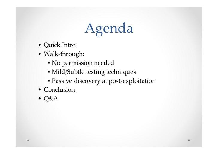 Silent web app testing by example - BerlinSides 2011 Slide 2