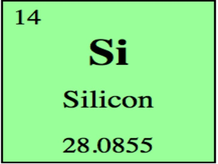 Silicon sugar silicon atomic number is 14 symbol is si atomic mass is 2809 pure urtaz Images