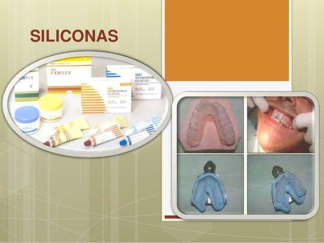 Materiales dentales: Siliconas Slide 2
